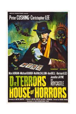 Dr. Terror's House of Horrors, Peter Cushing on UK Poster Art, 1965