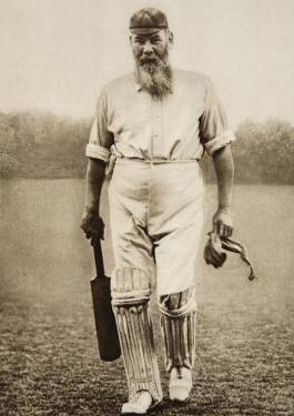 Dr. W.G. Grace at the Oval, 1906