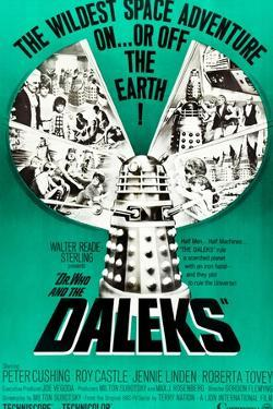 Dr. Who and the Daleks, Peter Cushing, Jennie Linden, Roberta Tovey, 1965