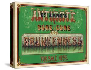 Dr. Zane's Antidote, c. 1864