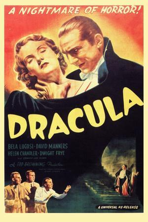 Dracula, Bela Lugosi, 1931, Plastic Sign