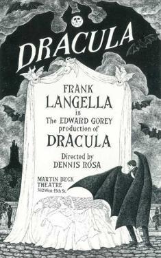 Dracula - Broadway Poster , 1977