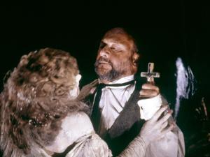 Dracula by JohnBadham with Janine Duvitski and Donald Pleasence, 1979 (photo)