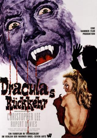 Dracula Has Risen from the Grave, Christopher Lee, Veronica Carlson, 1968