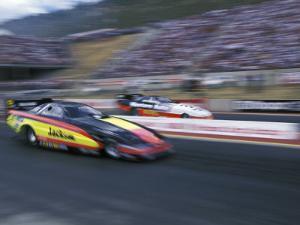 Drag Racing, Denver, Colorado, USA