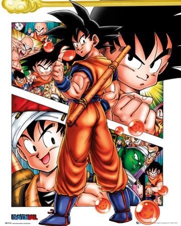 Dragonball- Goku Front And Center