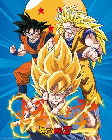 Dragonball Z 3 Gokus