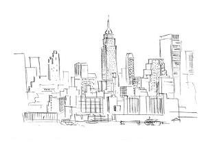 Drawing Skyscrapers New York