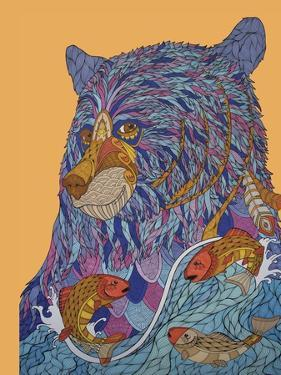 Bear Spirit by Drawpaint Illustration
