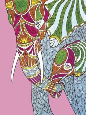 Elephants by Drawpaint Illustration