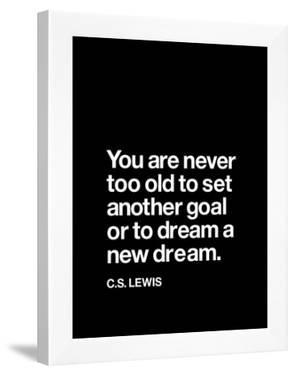 Dream a New Dream (C.S. Lewis)
