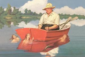 Dreaming Fisherman