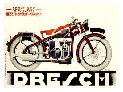 Dresch 1935 500CC Motorcycle