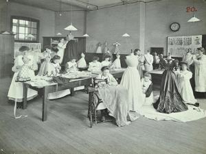 Dressmaking Class, Borough Polytechnic, Southwark, London, 1907
