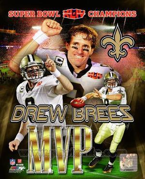 Drew Brees Super Bowl XLIV MVP