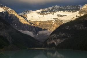 Lake Louise in Banff National Park by Drew Rush