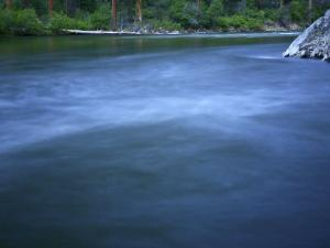Long Exposure on the Middle Fork of the Salmon River, Idaho by Drew Rush
