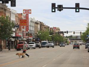 Walking Through the Streets of Sheridan, Wyoming by Drew Rush
