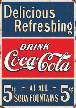 Drink Coca Cola Sign