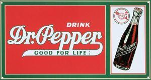 Drink Dr. Pepper Soda Good For Life