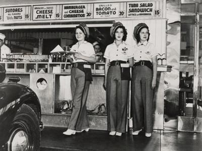 Drive-In Restaurant in Hollywood, Los Angeles