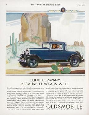 Driving Through the Western Desert in an Oldsmobile, A Great Car to Drive and a Great Car to Own