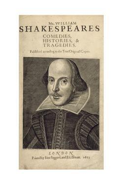 William Shakespeare by Droeshout