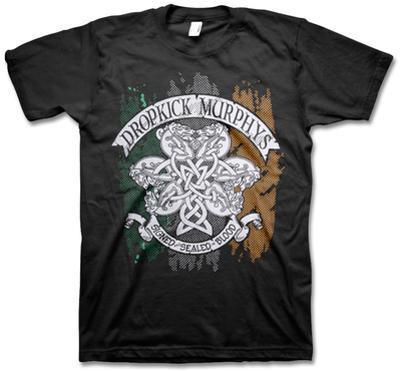 Dropkick Murphys - Knotwork Flag Tee