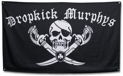 Dropkick Murphys- Pirate Logo