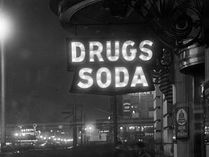 Drug Store Sign