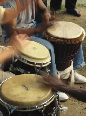 Drummers of Varied Backgrounds Join in the Mutual Language of Music