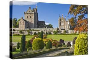 Drummond Castle, Perthshire, Scotland, Great Britain