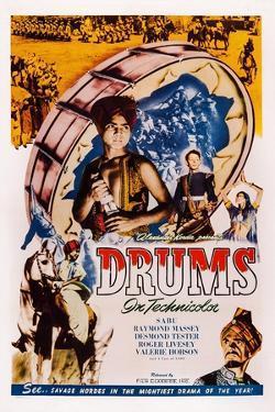 Drums, Sabu, Desmond Tester, Raymond Massey, 1938