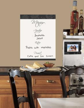 Dry Erase Menu Peel & Stick Giant Wall Decal