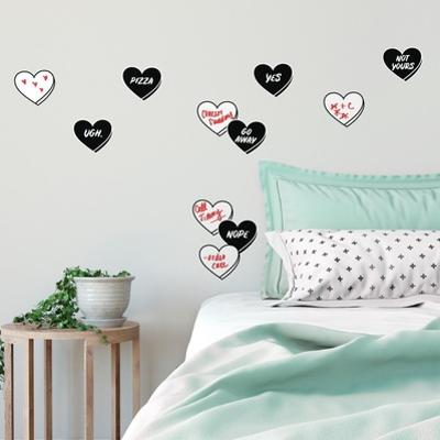 Dry Erase Real Talk Conversation Peel and Stick Wall Decals