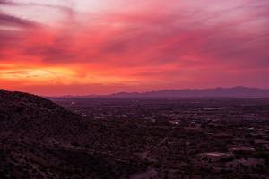 Arizona Sunset Scenery by duallogic