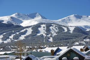 Breckenridge Ski Slopes by duallogic