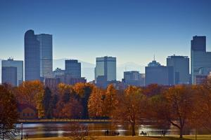 City of Denver Skyline by duallogic