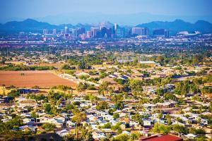 City of Phoenix Panorama by duallogic