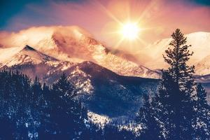 Colorado Mountains Vista by duallogic