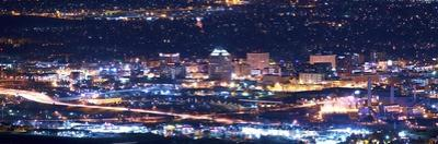 Colorado Springs at Night by duallogic