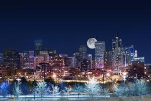 Denver Skyline West by duallogic
