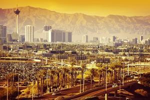 Las Vegas Nevada Cityscape by duallogic