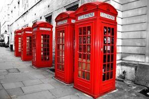 London Telephone Boxes by duallogic