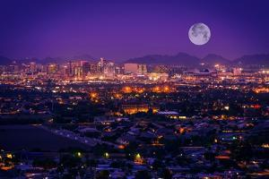 Phoenix Arizona Skyline by duallogic