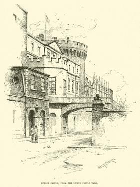 Dublin Castle, from the Lower Castle Yard