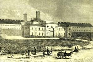 Dublin Ireland 1866 Mountjoy Prison