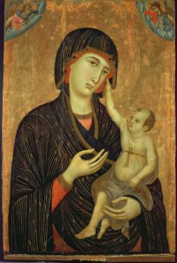 Crevole Madonna, c.1284 by Duccio di Buoninsegna