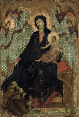 Virgin of the Franciscans, c.1300 by Duccio di Buoninsegna