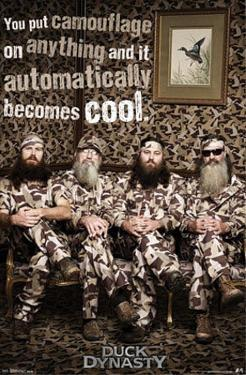 Duck Dynasty - Camo TV Poster